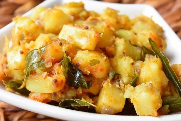 Potato Stir-fry / Potato Poriyal / Potato Vepudu / Aloo Sabzi